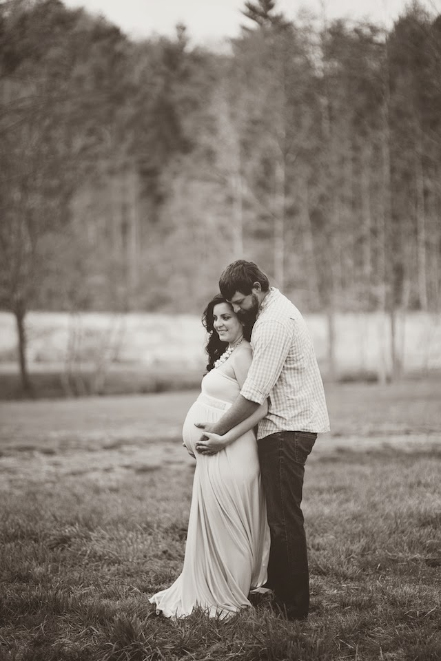 Fawn Over Baby Romantic Outdoor Maternity Session By Valerie Shelton Photography