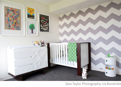Bedroom on Bondville  Real Kids Room  Grey Chevron 2 Year Old Boy S Bedroom