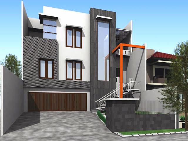 Foto Model Desain Rumah Modern Bandung Minimalis Terbaru