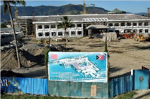 Dili & Modernização: Kantor Kemlu yg dibangun atas kerjasama pemerintah TL dgn China