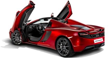 McLaren Launches the MP4-12C Spider