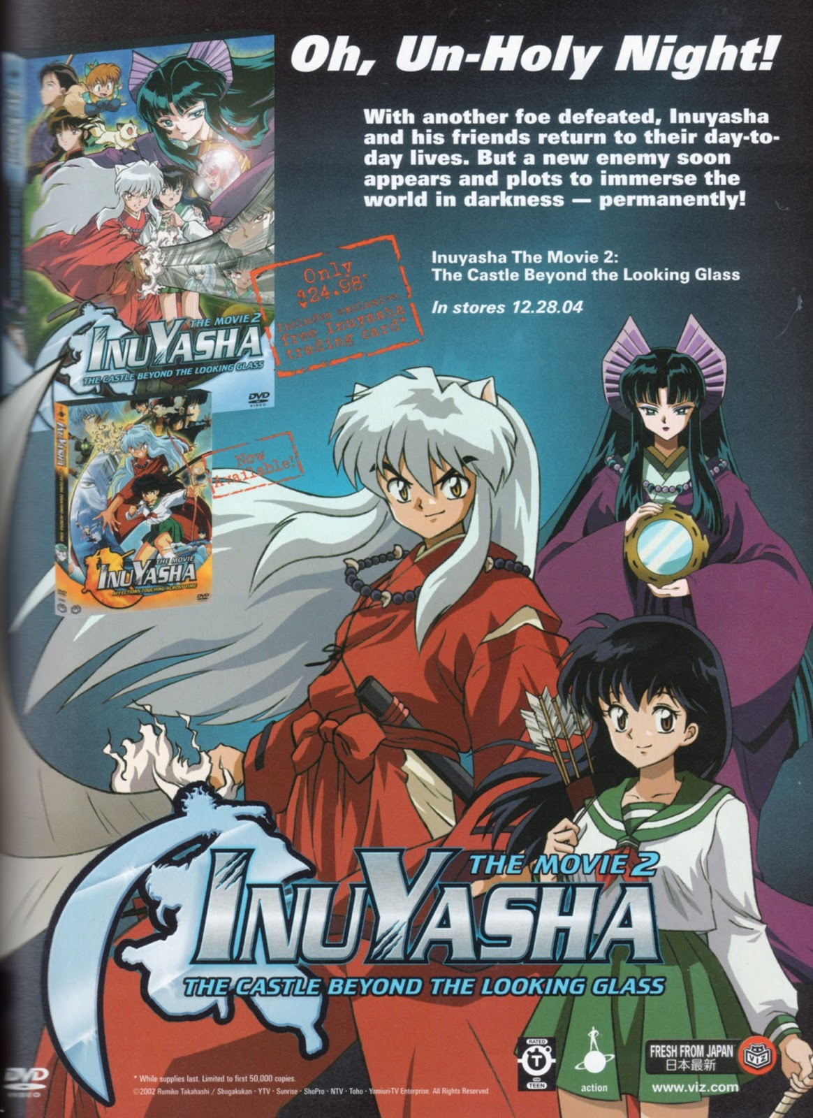 anime wasteland throwback ad thursday inuyasha movie 2