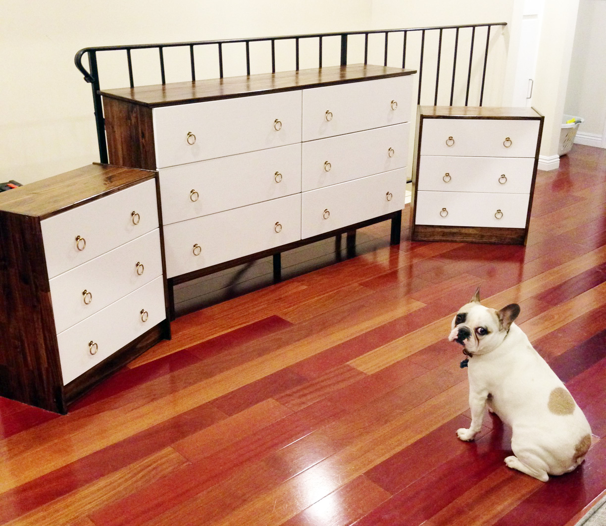 savvy and savory ikea hack part 2 matching dresser. Black Bedroom Furniture Sets. Home Design Ideas