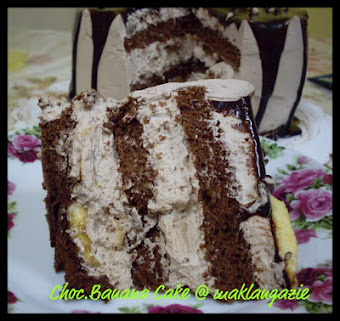 "Choc.Banana Cake @ RM70 (9"")"