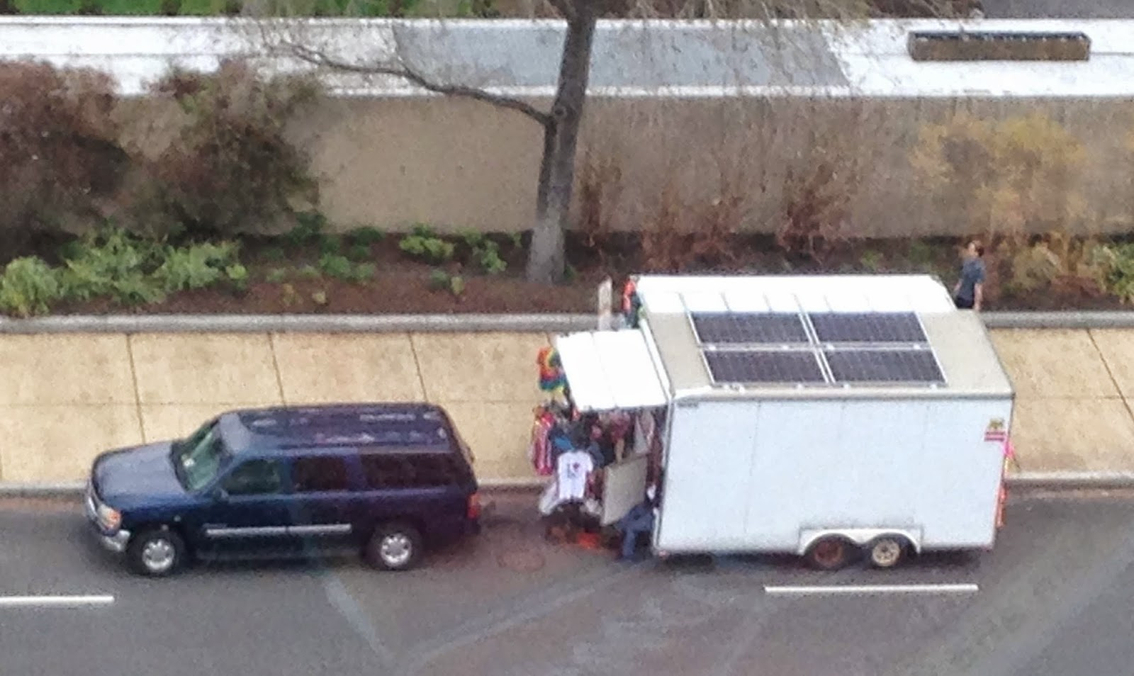Solar Powered Vendor in DC