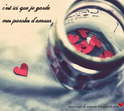 coeur d'amour parol d'amour