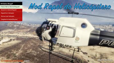 Baixar Mod Taxi Aéreo + Rapel de Helicóptero Para GTA V