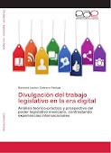 LIBRO: Divulgación del trabajo legislativo en la Era Digital