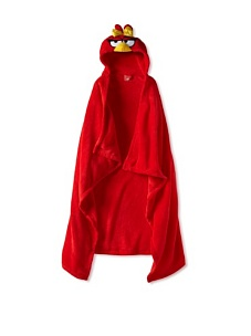 MyHabit: Up to 60% off Batman, Spiderman, Hello Kitty: Hooded Blankets - Angry Bird with Bow Hooded Wrap (Big Kid)