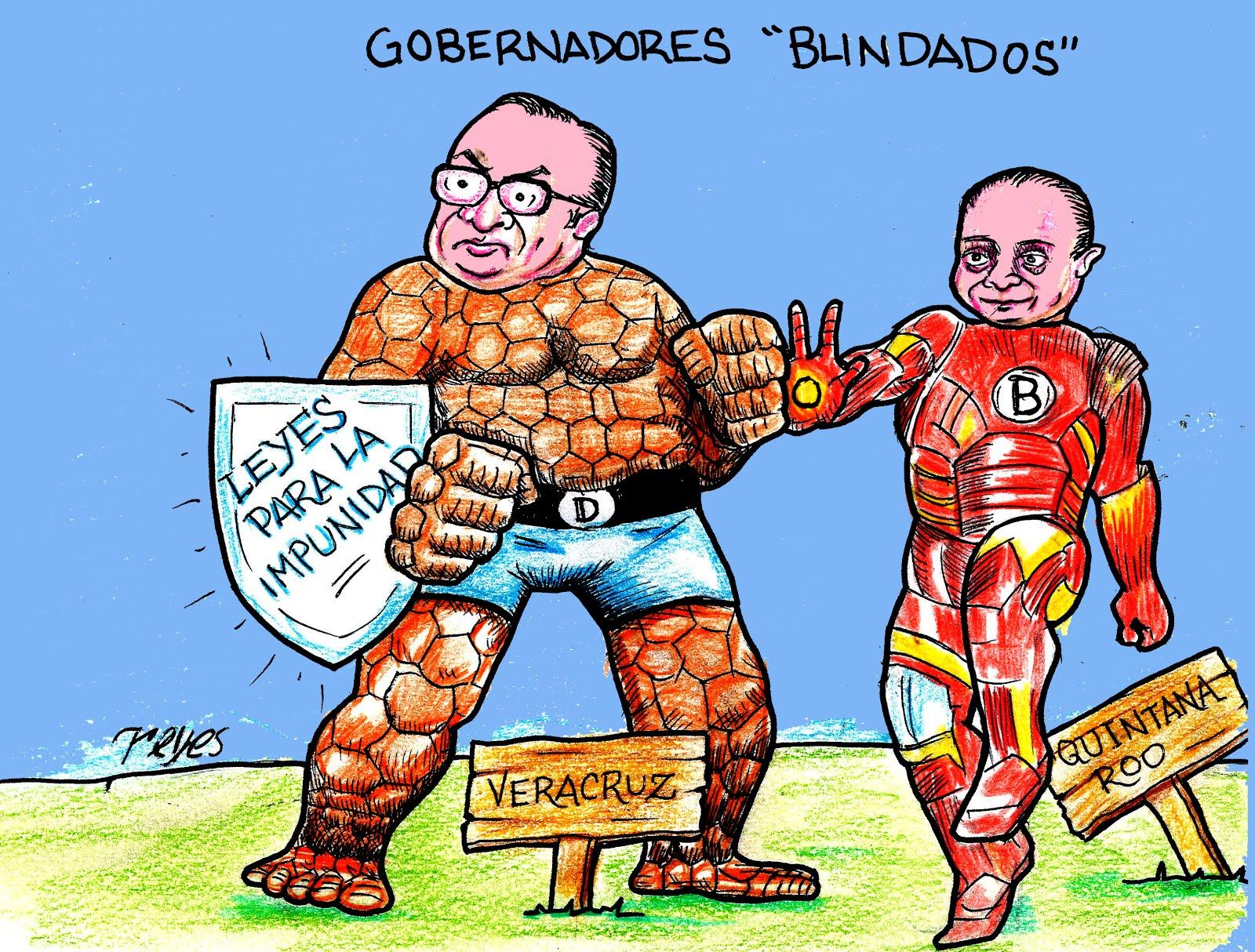 Gobernadores blindados