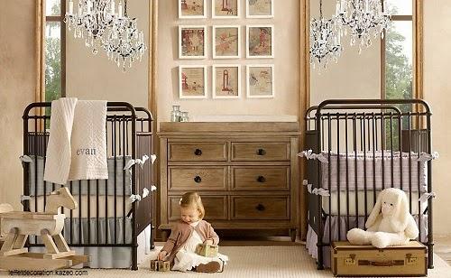 Belle Chambre bébé jumeaux