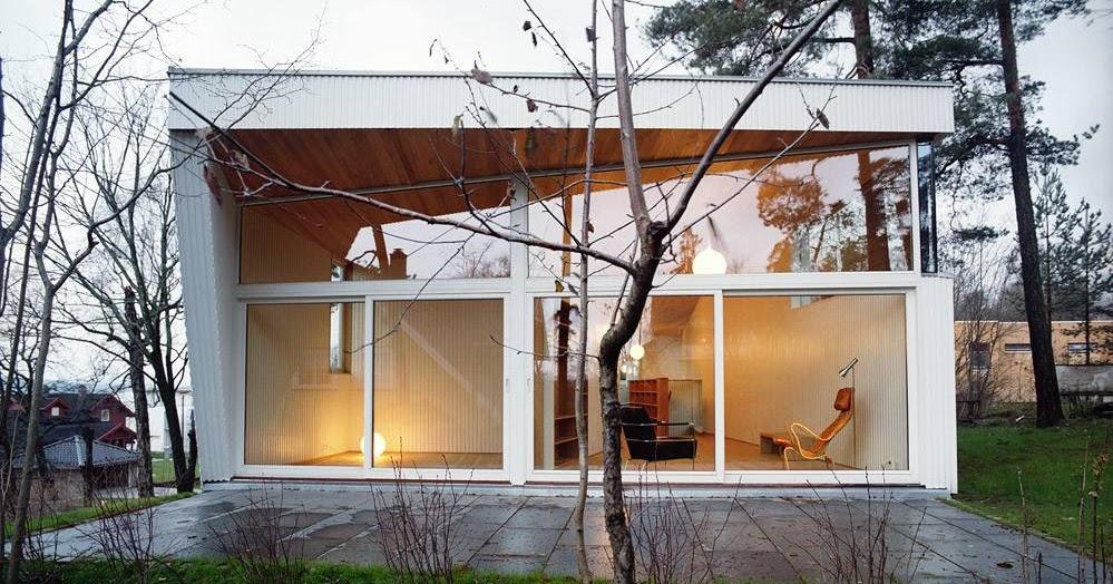 Arquitectura de casas casa ultra moderna en noruega for Planimetrie della casa ultra moderna