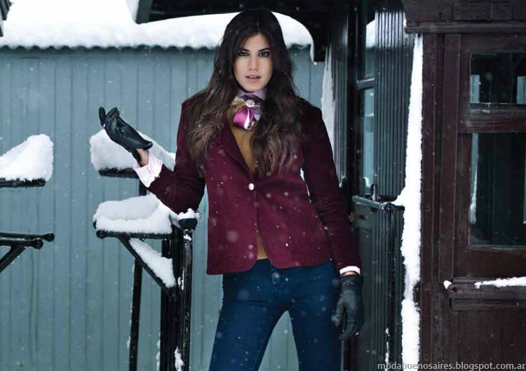 Moda invierno 2014 Argentina.