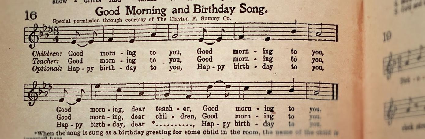 happy birthday history Every birthday party the world over observes certain established formalities these include: the birthday cake, candles, wine, and most importantly a.