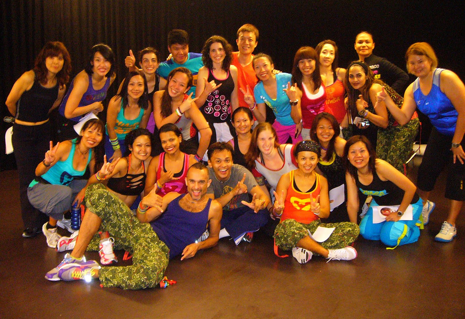 Dreaming Reality: Zumba Instructor ZIN31 Training!