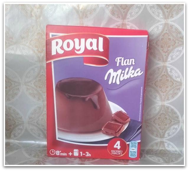 Flan Milka Royal