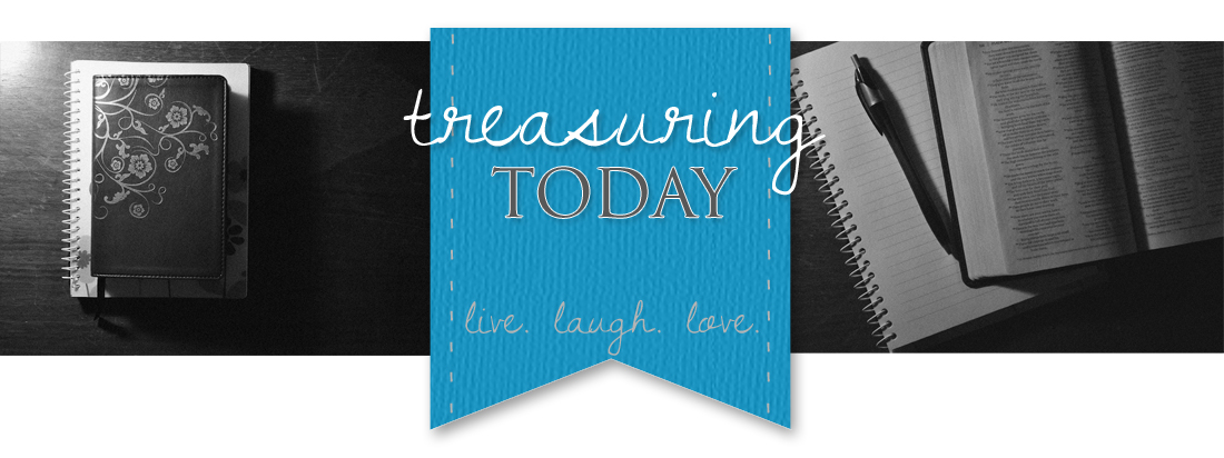 treasuring today || rebekah mae