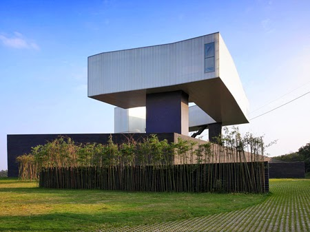 Steven Holl Architects' first project in China, the 30,000 sq. ft. Sifang Art Museum in Nanjing,