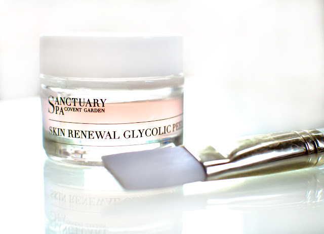 Sanctuary Spa glycolic face peel