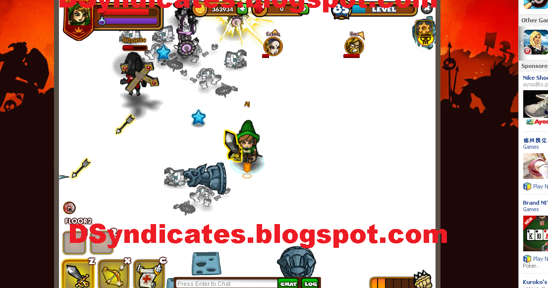 Tech Elite Squad: Dungeon Rampage Cheat - Wall Hack All Maps