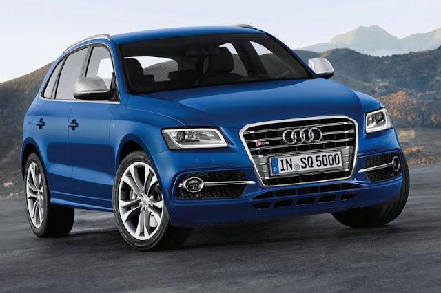 2013 Audi SQ5 TDi Front Interior