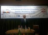 2015 VII Jornada  Internacional de Enseñanza de la Química.