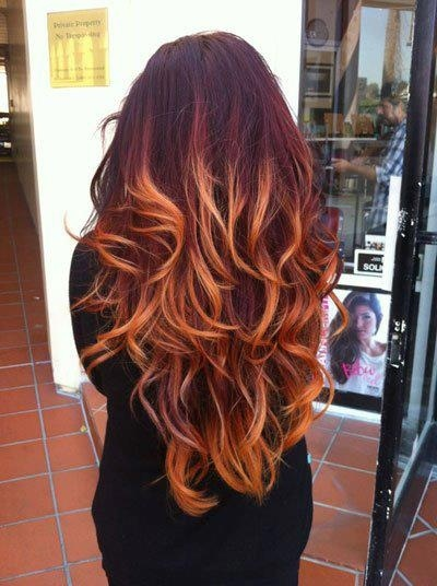 Auburn hair with highlights and lowlights gallery hair extension dees beauty blog bored with your hair here are some trends to try plum red blonde pmusecretfo Images
