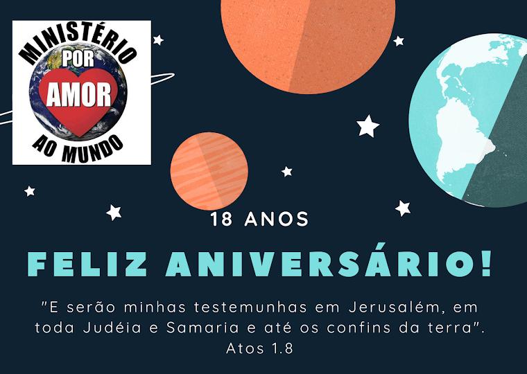 MINISTÉRIO POR AMOR AO MUNDO