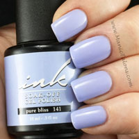 Glam and Glits Ink Gel Polish Pure Bliss Swatch