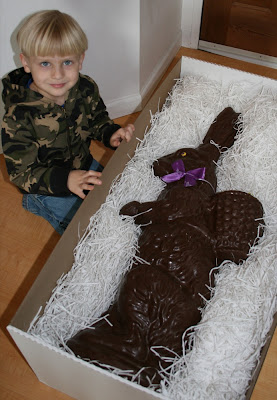 Chocolate Easter Bunnies Gift Idea