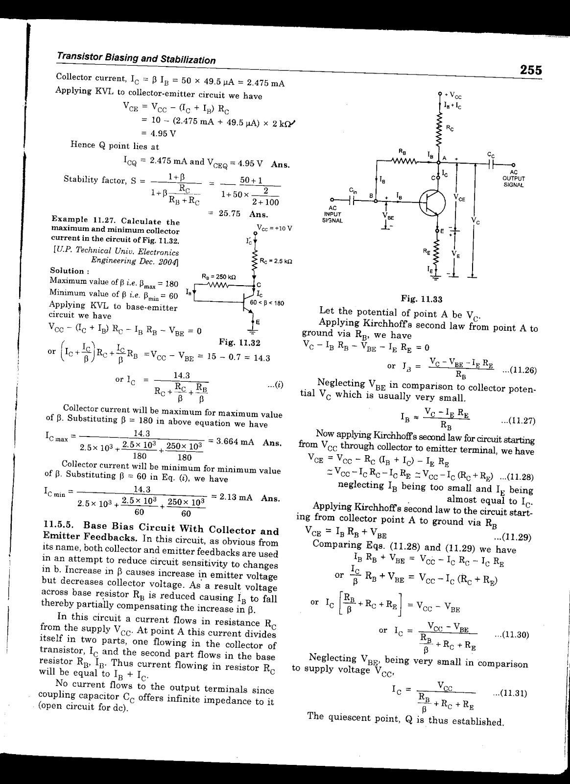 Transistor Biasing Circuits Jbgupta Electrical Engg Lectures Electronic Circuit By Jb Gupta Posted 16th November 2012 Ramasubramanian S