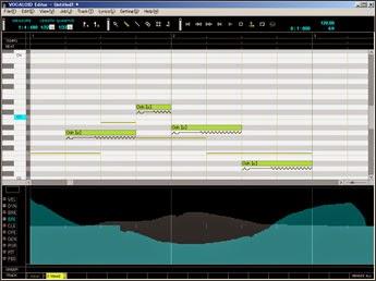 Imagem do programa pago Vocaloid