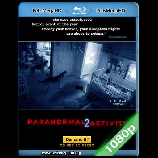 ACTIVIDAD PARANORMAL 2 [UNRATED] (2010) FULL 1080P HD MKV ESPAÑOL LATINO