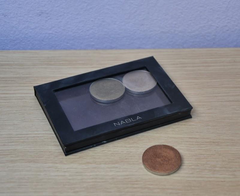 Review: Nabla Cosmetics Bright Eyeshadow in Glitz