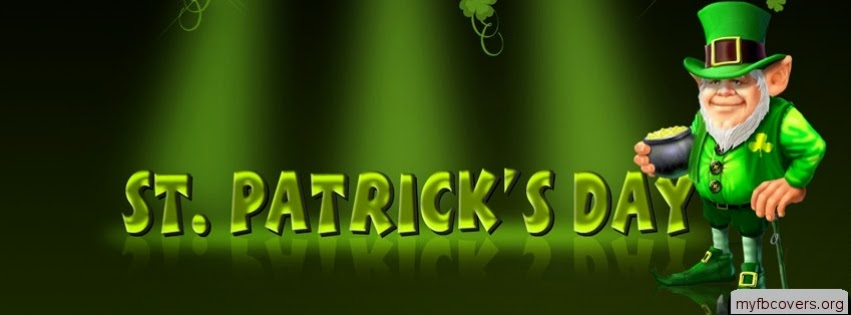 facebook covers, st patrick's day, happy st patricks,