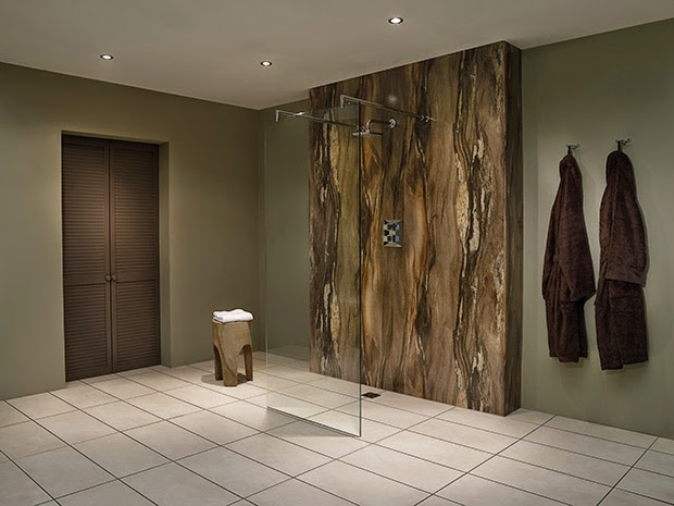 Emejing decoration murale design salle de bain pictures for Panneaux muraux pour salle de bain