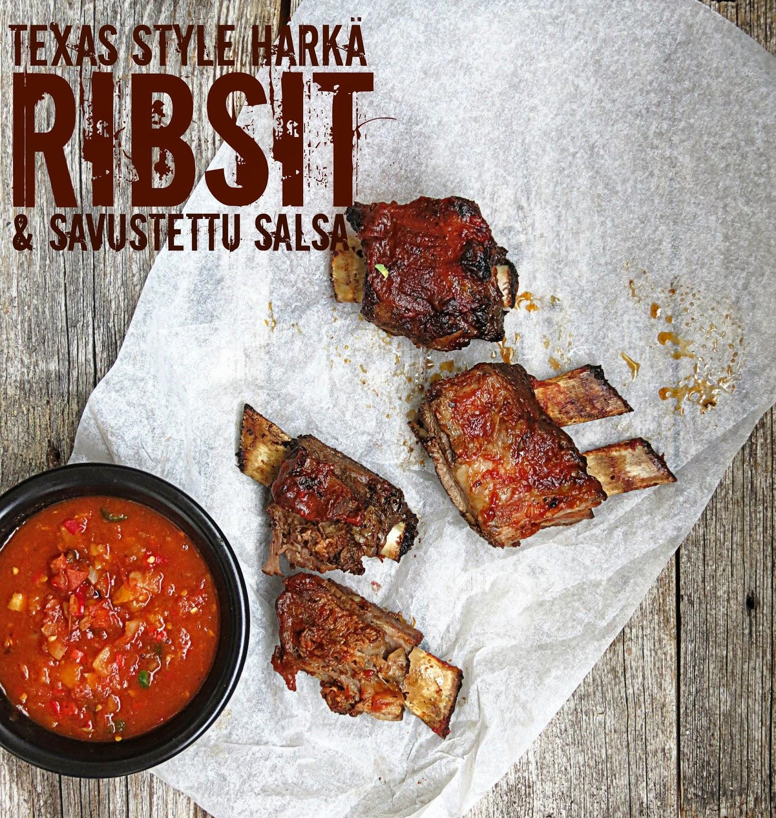 Texas Style Ribsit & Savusalsa