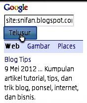 site snifan.blogspot.com
