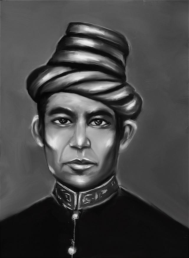 Gambar Foto Pahlawan Nasional Indonesia: Gambar Teuku Umar 1854-1899