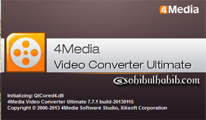 4Media Video Converter Ultimate 7.7.1 Build 2013 Full Crack
