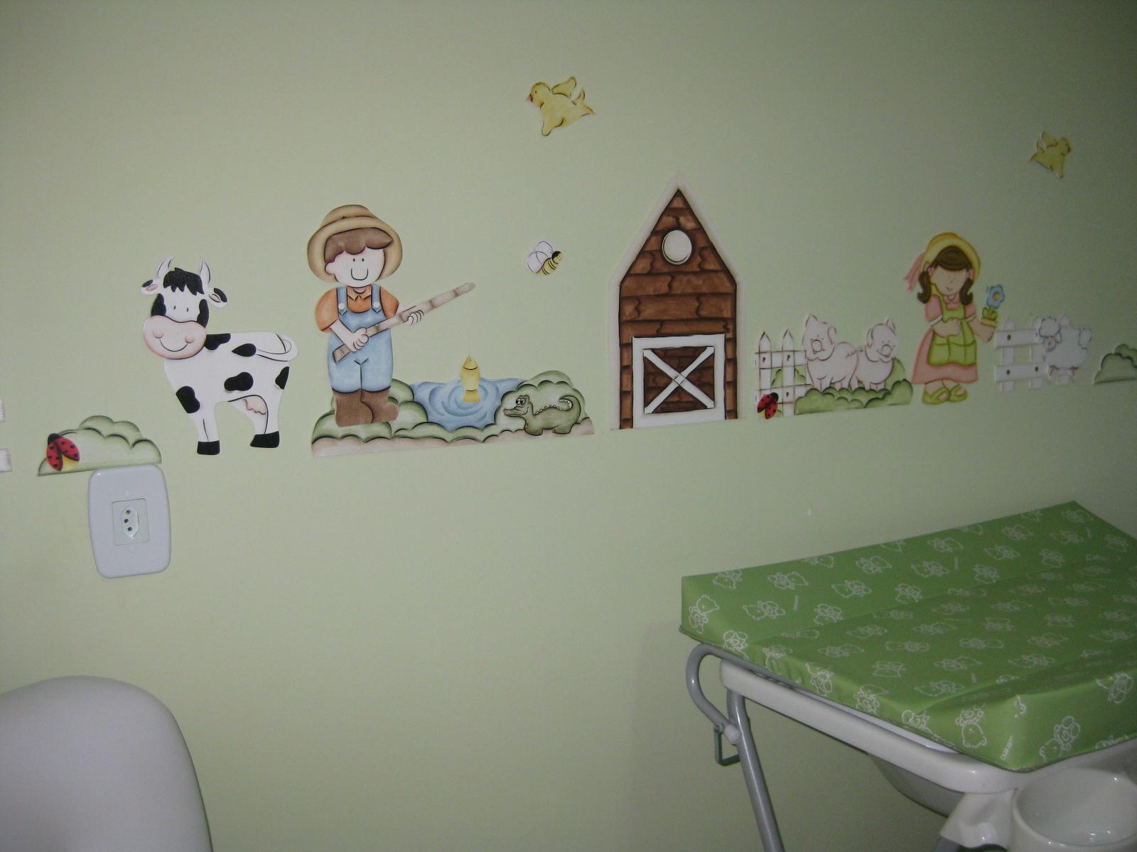 Quarto De Bebe Decorado Fazendinha ~ Quarto de Beb? Tema Fazenda