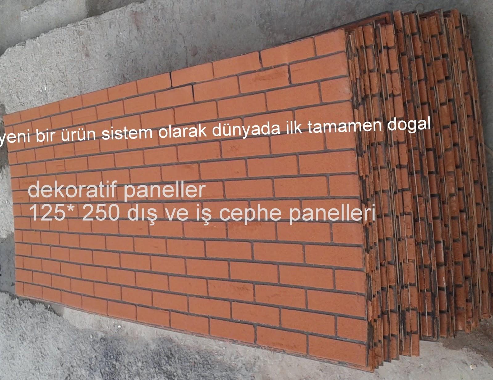 Dış cephe duvar taşları fiyatları