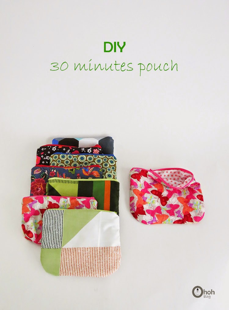 Make a pouch in 30 minutes