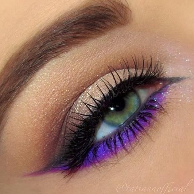 Les 50 plus beaux maquillages astuces de filles Idee maquillage yeux