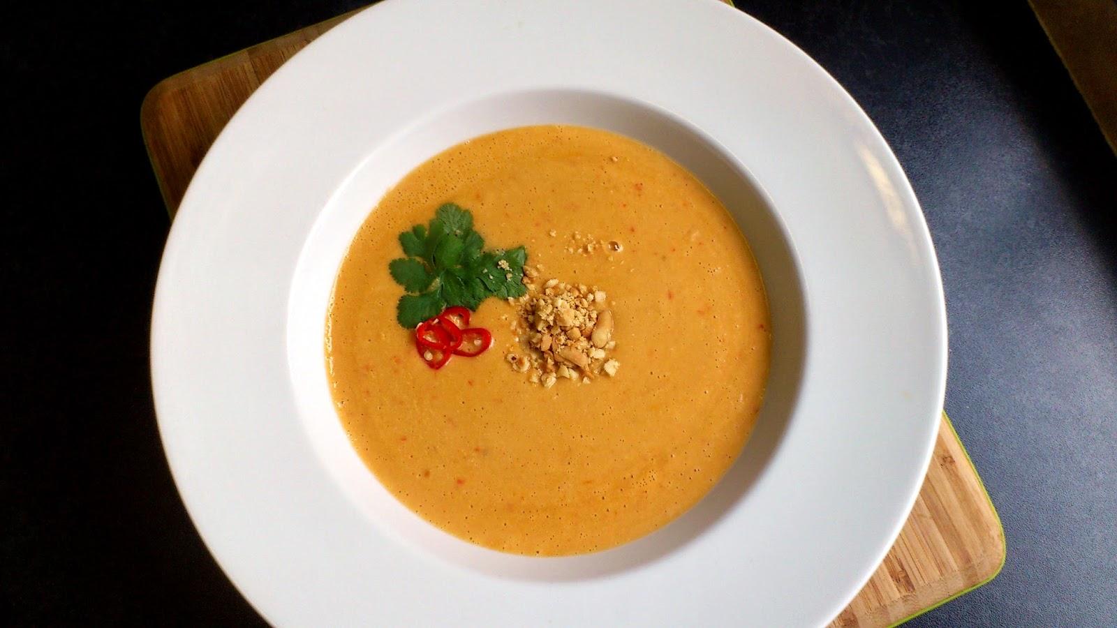 Chupe de Maní - Ecuadorian Peanut Soup
