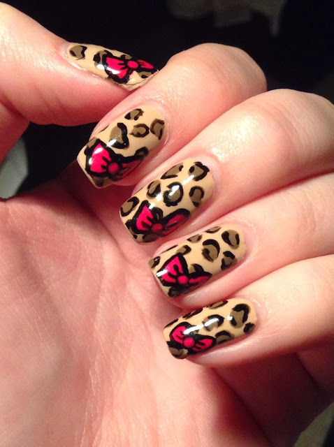 Nails By Bayles: Leopard Nails - 71.2KB