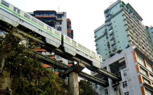kereta api Chongqing