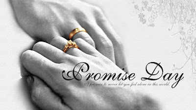 Romantic Promise Day Wallpaper