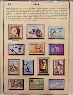 Perros, colección de sellos de Emilio Rodríguez del Río