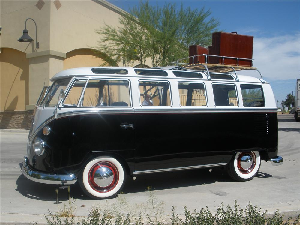 Your dream car for 1963 vw 23 window bus for sale